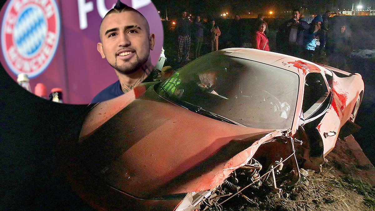 Arturo Vidal no conducirá en Múnich (de momento)