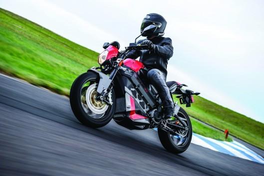 Victory Empulse TT:moto deportiva eléctrica a la americana
