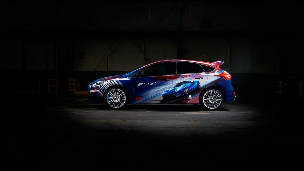 Nuevo Ford Focus RS con diseño exclusivo para la  Gamescom