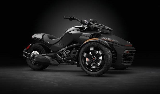 Can-Am Spyder F3-S Special Series, oscura tentación
