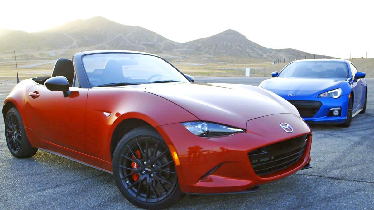 Diversión 'made in Japan': Mazda MX-5 2015 'vs' Subaru BRZ