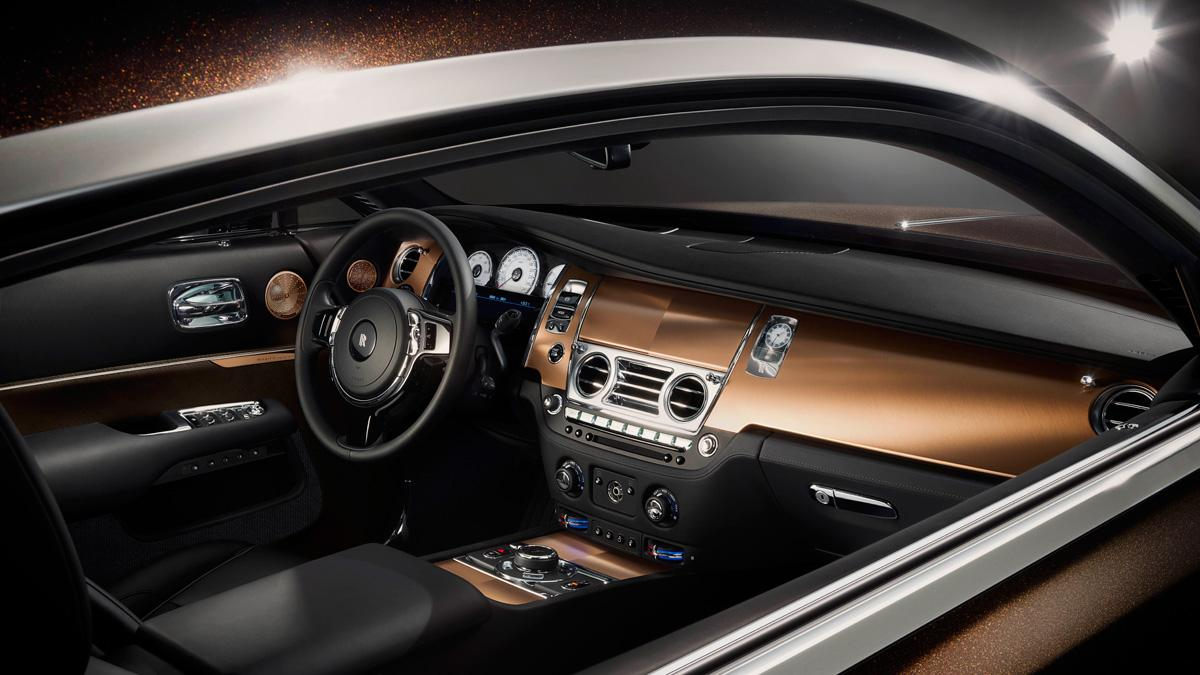 Rolls-Royce inspired by music interior