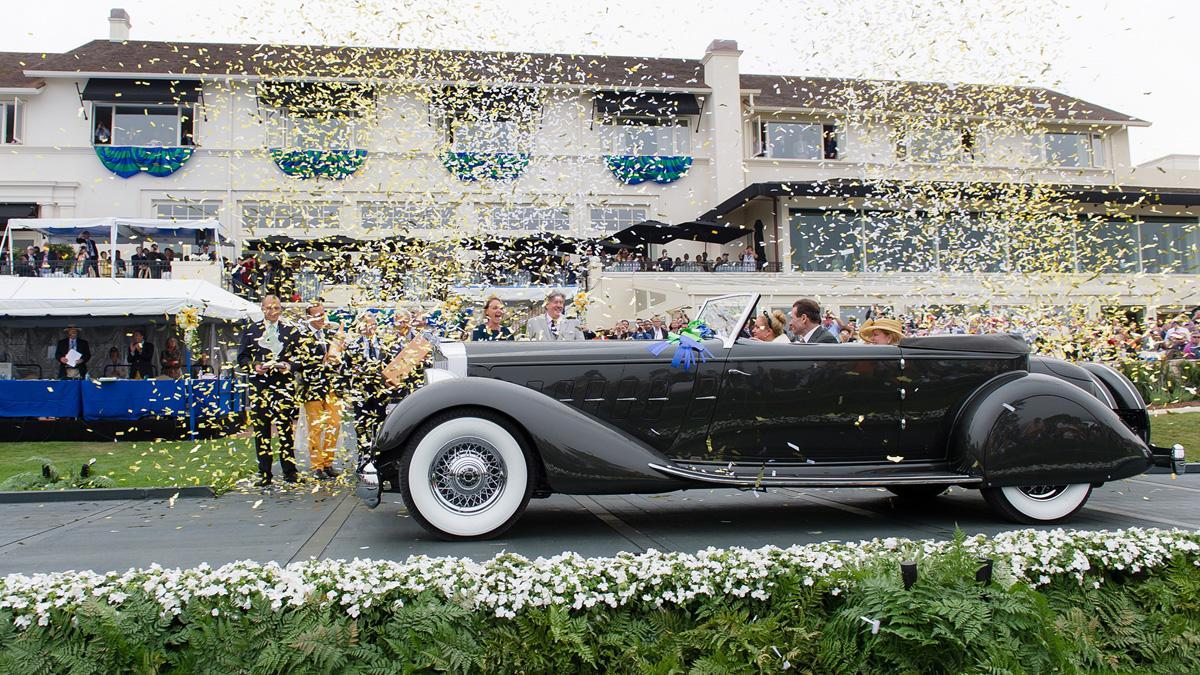 Concurso de Elegancia Pebble Beach 2015: ¡exclusividad!