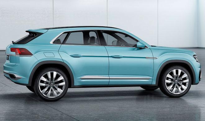 Volkswagen planea un Tiguan Coupé R