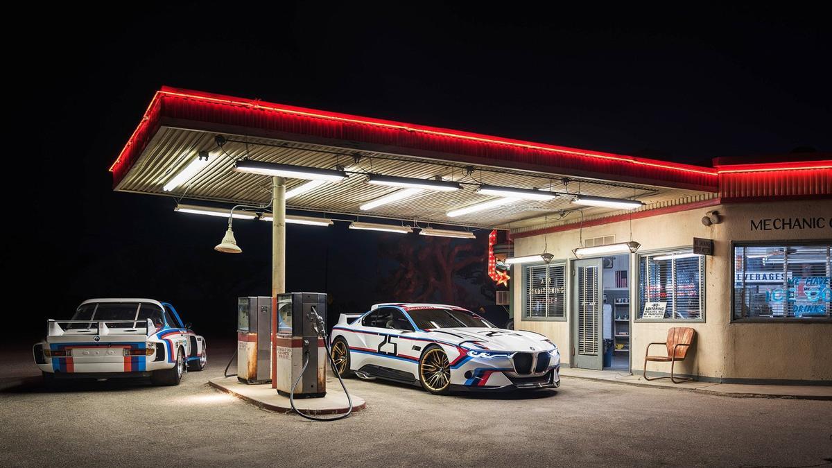 BMW 3.0 CSL Hommage R clasico