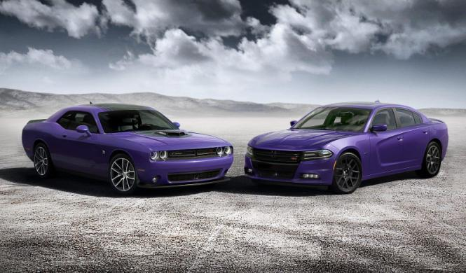 Dodge presenta un color retro para el Charger y Challenger