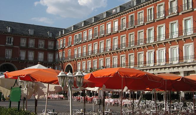 Plaza Mayor en Madrid