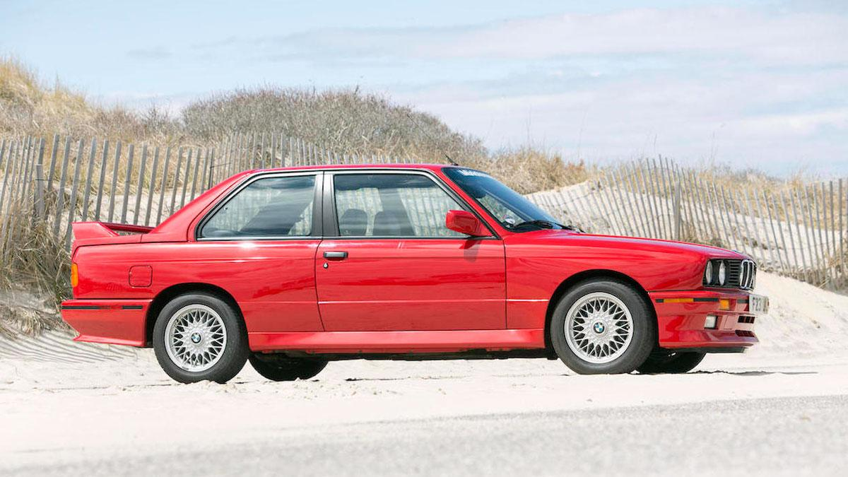 BMW M3 E30 lateral