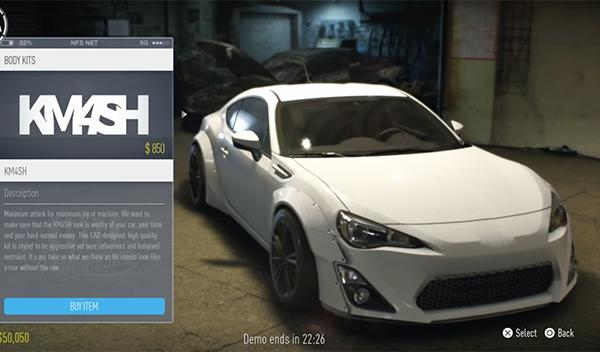 Gameplay Need for Speed 2015 1