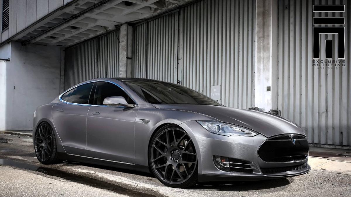 Tesla Model S preparado Revozport