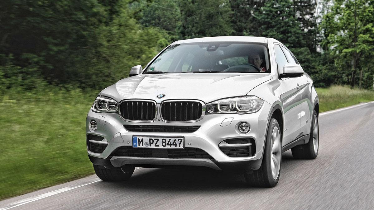 BMW X6 frontal