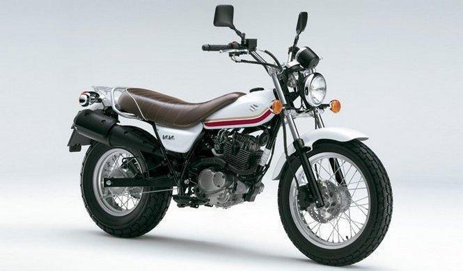 La Suzuki VanVan se viste de blanco