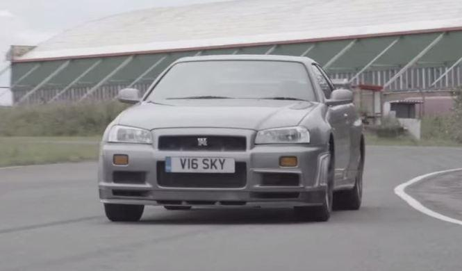 Nissan Skyline GT-R R34 contra Nissan GT-R R35