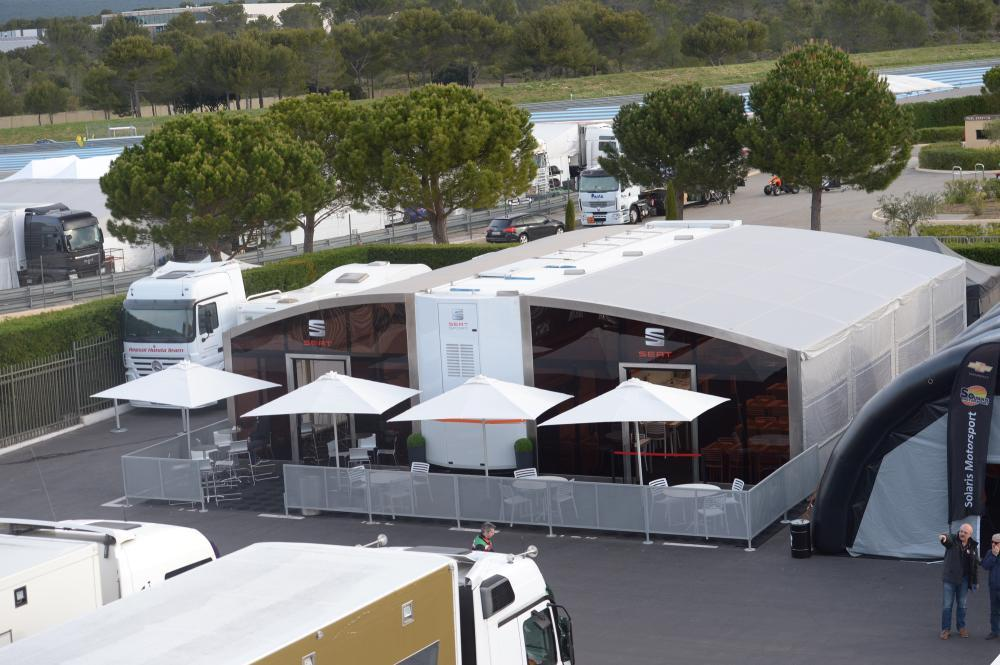 Restaurante Seat León Eurocup
