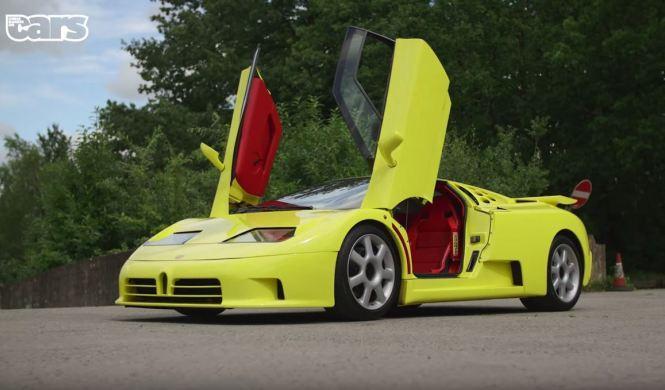 Chris Harris se vuelve loco con un Bugatti EB110