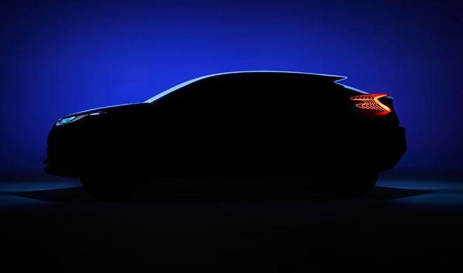 El nuevo crossover de Toyota, pillado en España