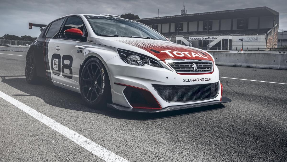 Peugeot 308 Racing Cup, hecho para la competición