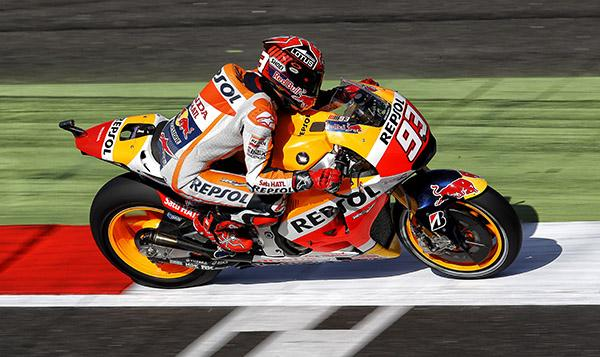 Clasificación MotoGP Silverstone 2015: Márquez de récord
