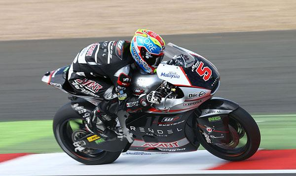 Carrera Moto2 Silverstone 2015: Zarco es de otro planeta
