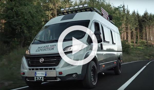 Fiat Ducato 4x4 Expedition, diseño sobre ruedas