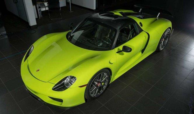 Venta Porsche 918 Spyder Acid Green