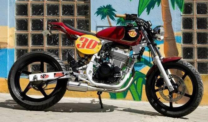 XTR Pepo le da una nueva vida a la Honda CBF 250
