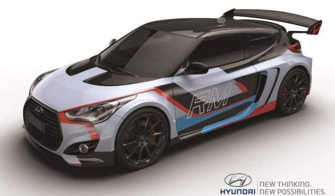Hyundai RM15 Concept: un biplaza con motor central