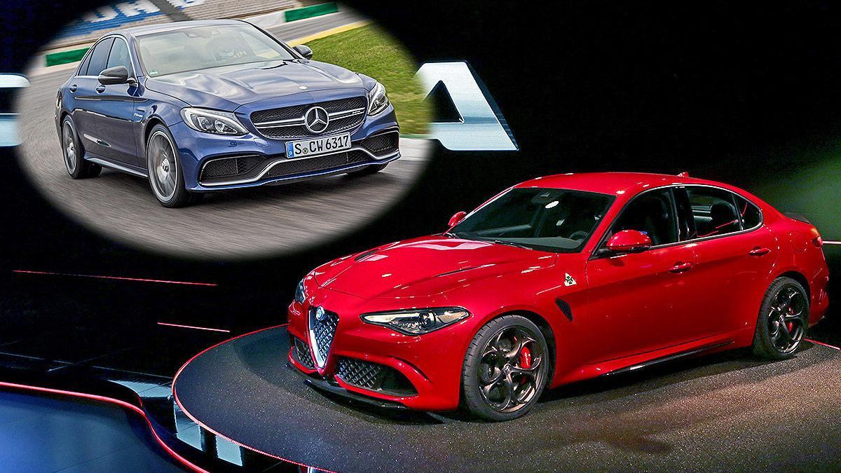 ¿Alfa Giulia o Mercedes C 63 S?