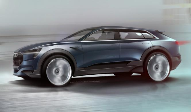 Audi quattro e-tron Concept: el SUV eléctrico