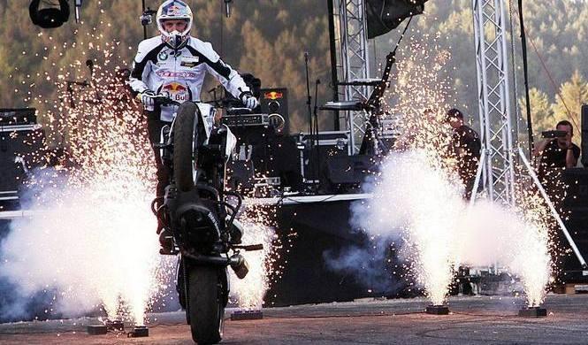 La leyenda del stunt Chris Pfeiffer se retira con 45 años