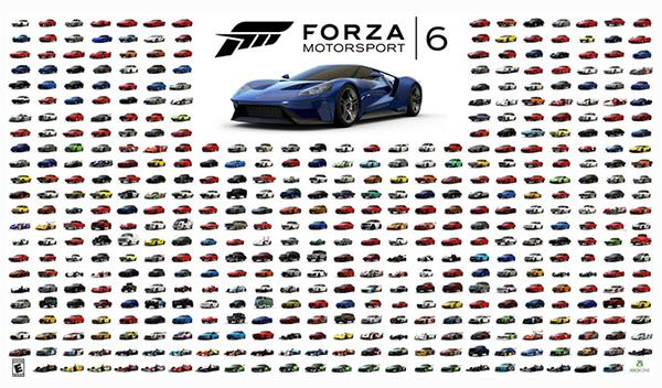 Ya está disponible la demo oficial del 'Forza Motorsport 6'