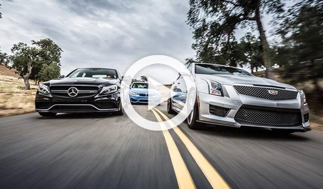 Mercedes-AMG C63 S y Cadillac ATS-V, ¿podrán con el BMW M3?