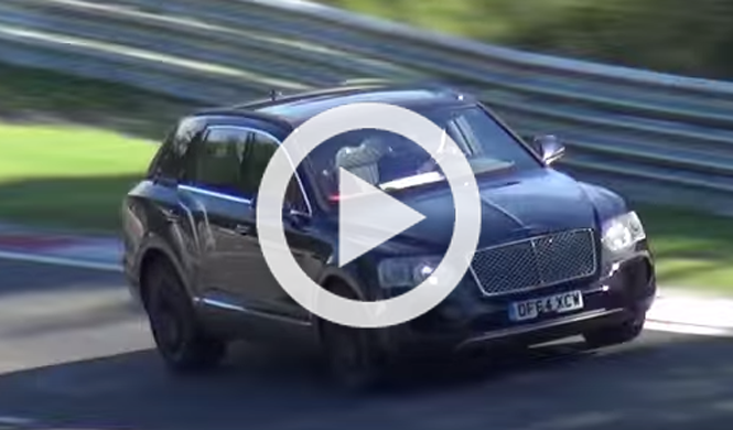 Primera 'pillada' del Bentley Bentayga Speed en movimiento
