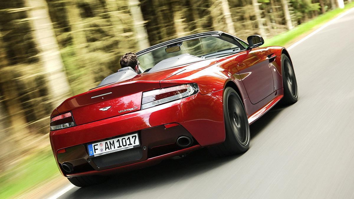 Prueba: Aston Martin V12 Vantage S Roadster dinámica
