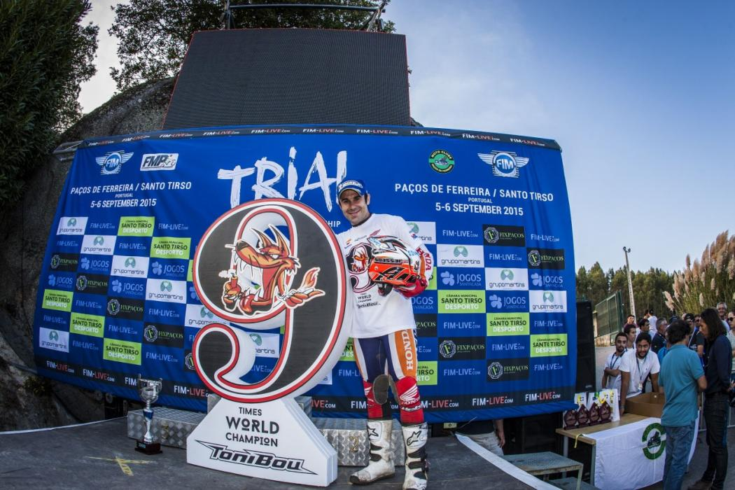 Toni Bou logra su 9º título de Campeón del Mundo de Trial