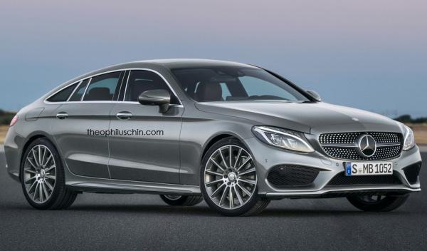 Así será el nuevo Mercedes Clase C Coupé cuatro puertas