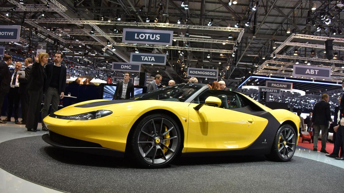 Vídeo: solo hay seis Ferraris como este en el mundo