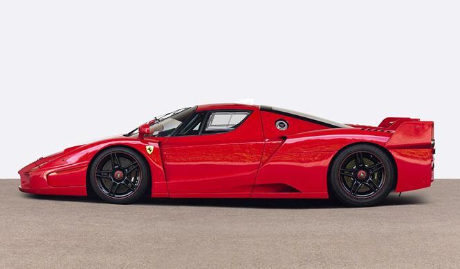Se subasta el Ferrari FXX de Michael Schumacher
