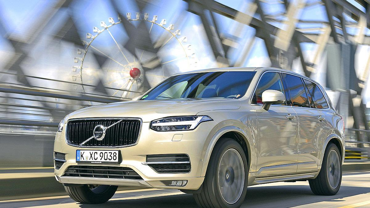 30: Volvo XC90 T6 AWD Geartronic Inscription.  320 CV.  10,1 l/100 km.