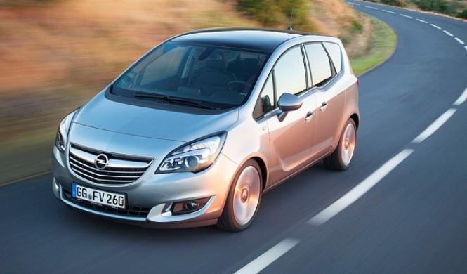 Opel Meriva 2016: primeras fotos espía