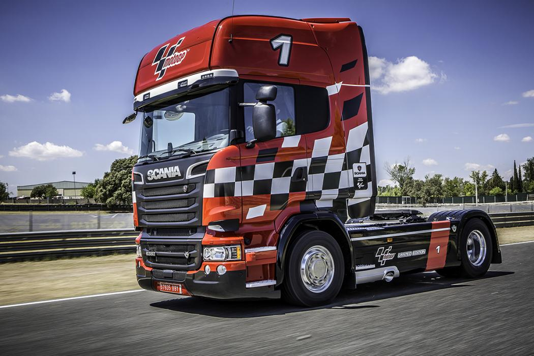 ¿Qué hace este camión en MotoGP?