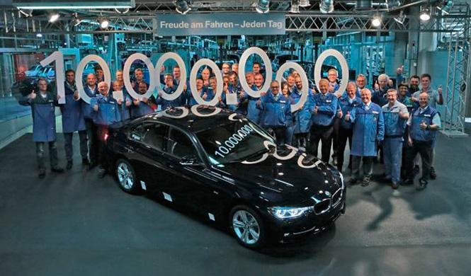 Pregunta del millón: ¿cuántos BMW Serie 3 hay en el mundo?