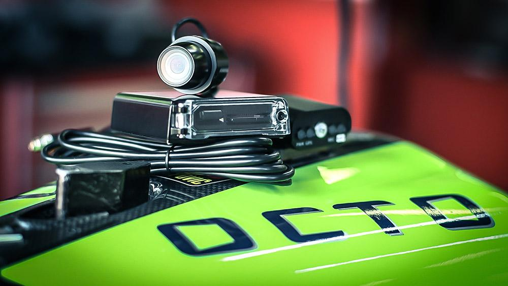 Cámara Octo Rider 2V, para tu seguridad y disfrute
