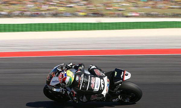 Carrera Moto2 Misano 2015: Zarco gana sobrado