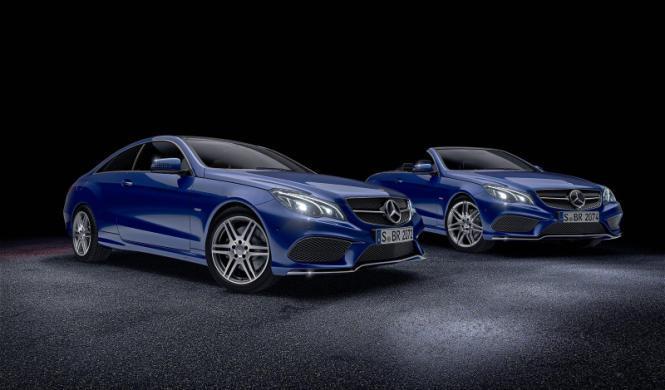 Mercedes Clase E Coupé y Cabrio, nuevos paquetes especiales