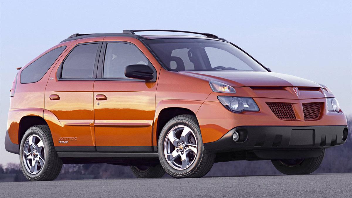 Pontiac Aztek, de patito feo a coche deseado