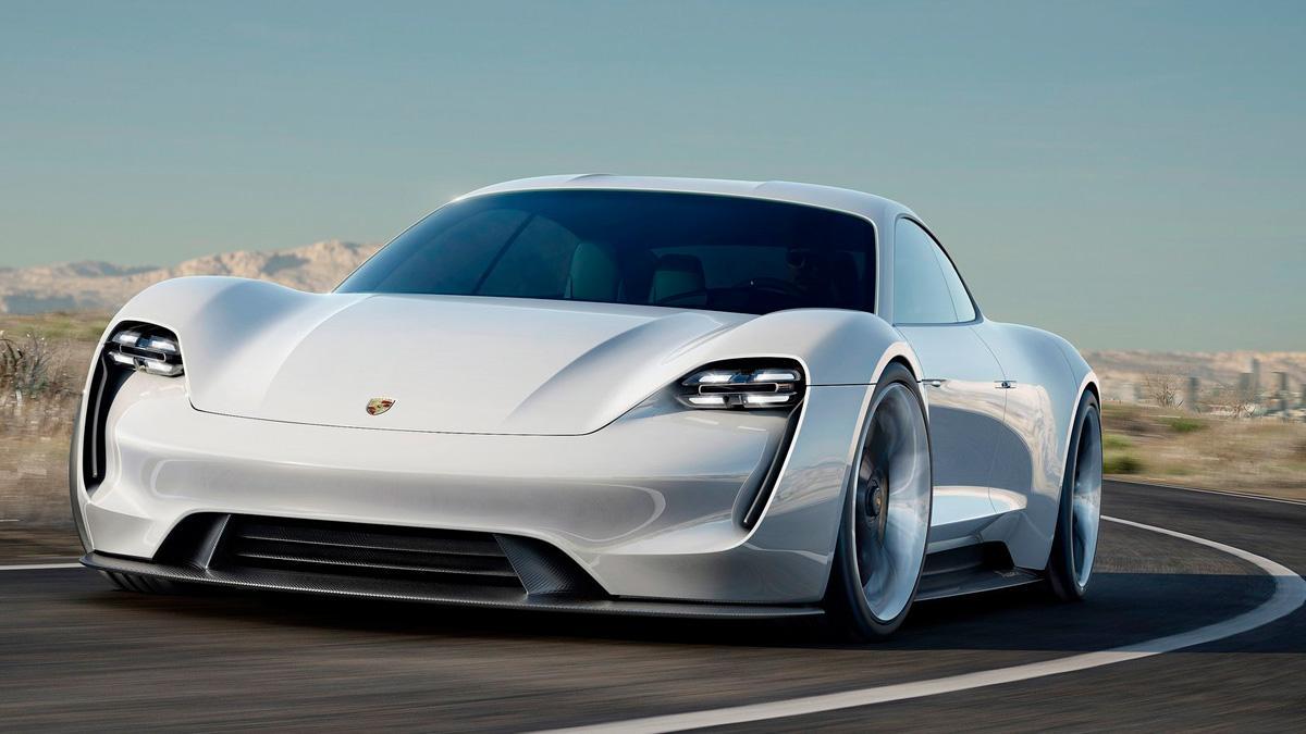 Porsche Mission E delantera