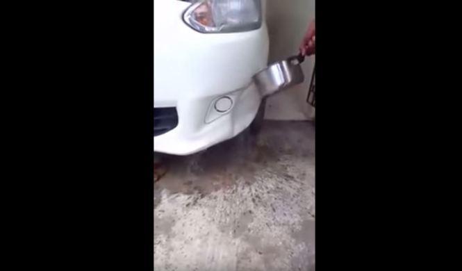 Reparar tu coche con agua caliente ya es posible