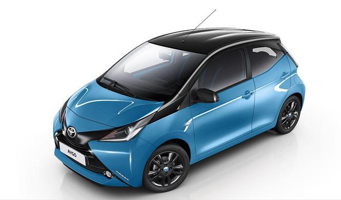 Toyota AYGO x-cite: no es azul, es x-cyan