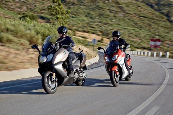 BMW renueva los maxiscooters C650Sport y C650GT